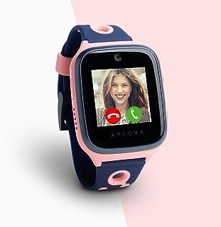 Xplora 4 Kids - Smartwatch para niños, Incluye Tarjeta SIM en Red Vodafone y cartilla de Amazon de 100 €, Reloj Inteligent...