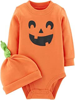 Carter's 2-Piece Halloween Collectible Bodysuit & Cap Set