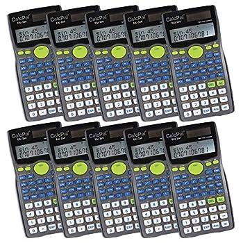 EAI Education CalcPal EAI-350 Scientific Calculator - Set of 10