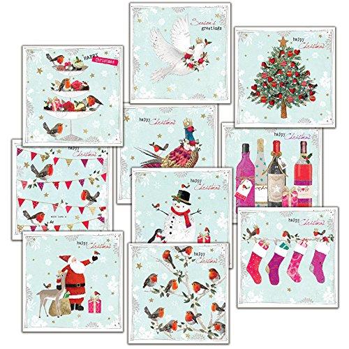 Hammond Gower Pubblicazioni AXP008cartolina di Natale (confezione da 10)