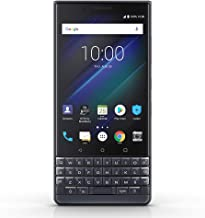 BlackBerry KEY2 LE BBE100-2 64GB Unlocked GSM Android Phone w/Dual 13MP/5MP Camera - Space Blue/Slate