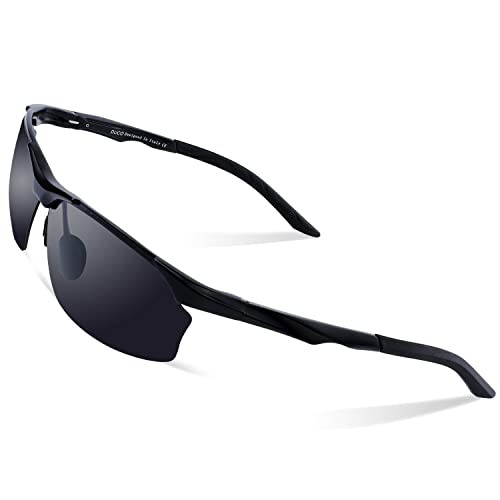 6cebe62a58 Duco Polarized Sunglasses For Cycling Fishing Golf Unbreakable Men s Shades  8513S
