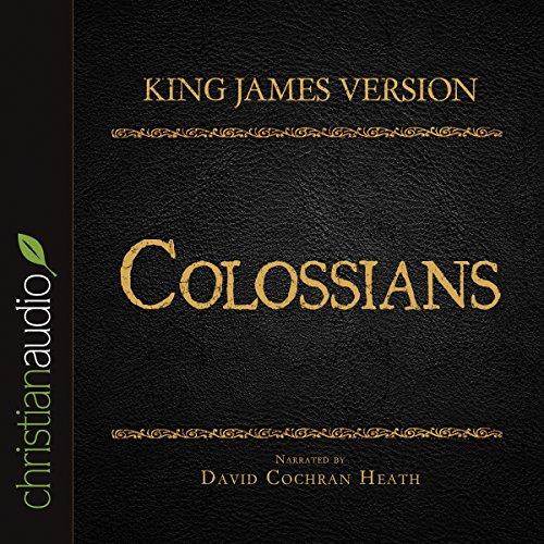 Holy Bible in Audio - King James Version: Colossians cover art