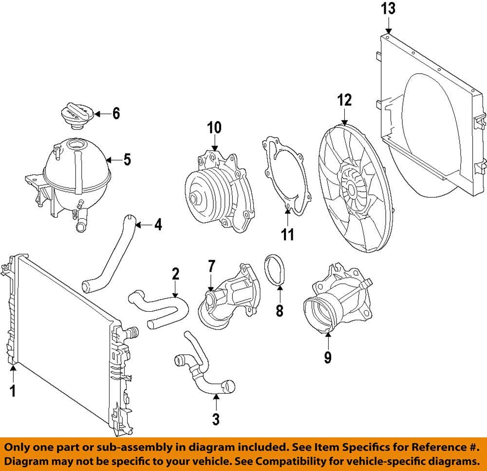 Mercedes-Benz 642 200 Cheap sale 20 15 Coolant Latest item Engine Thermostat Housing