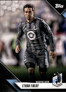 2019 Topps MLS #12 Ethan Finlay Minnesota United FC Soccer Trading Card