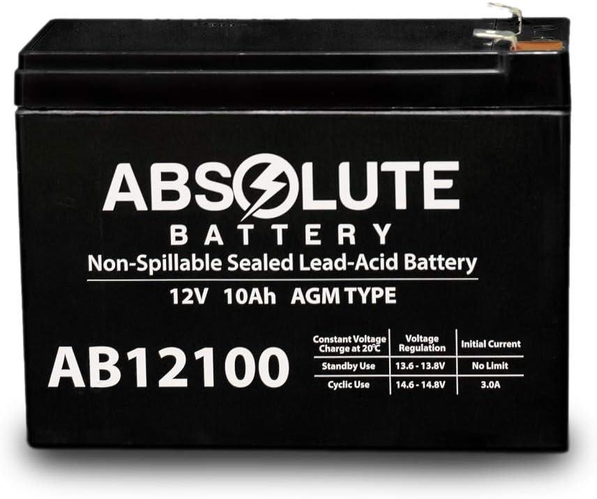 AB12100-S 12V 10AH 85968 D5719 Sealed Batteries Lead Cheap bargain free shipping Acid