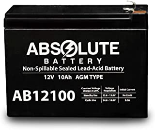 12V 10AH Replacement for Bladez Ion 450 Scooter Battery MK Battery ES10-12S
