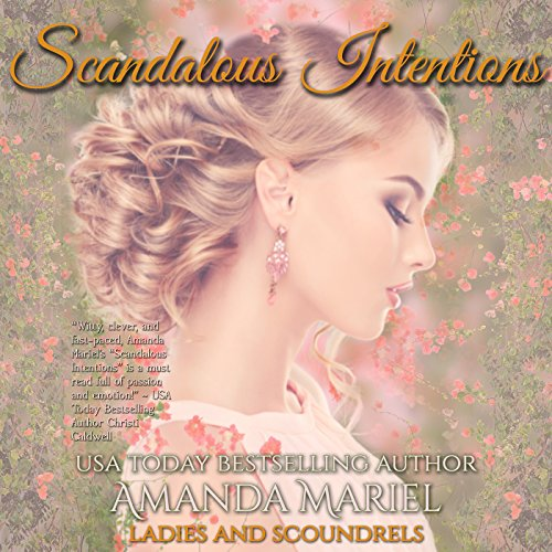 Scandalous Intentions audiobook cover art