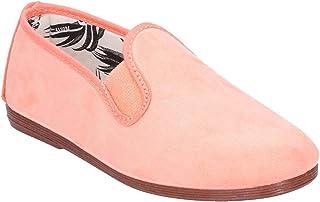 Flossy Crack Junior Girls Slip On Leather Shoe