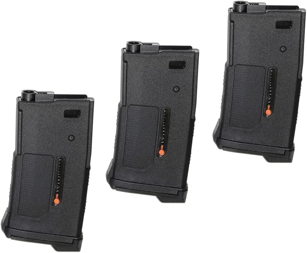 Airsoft Spare Parts PTS 3pcs Now on sale 170rd fo Seattle Mall EPM1-S Type Magazine Short