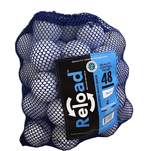 Reload Recycled Golf Balls 48 Ball Mesh Bag