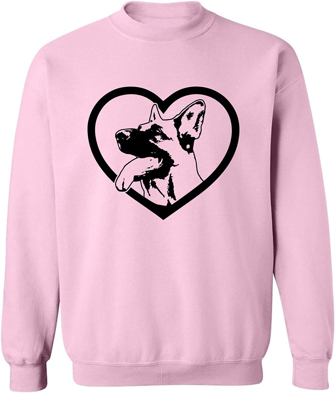 zerogravitee German Shepherd Crewneck Sweatshirt