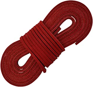Leather Boot Laces-easy Sizing Cut to Fit