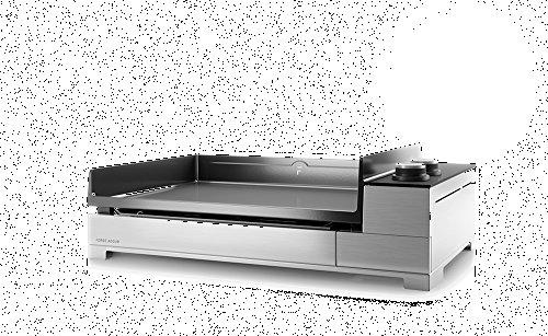 Forge Adour - Premium g60i - Plancha gaz 7000w Plaque Fonte 'maill'e 60x42cm