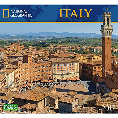 National Geographic Italy - 2017 Calendar 13 x 12in