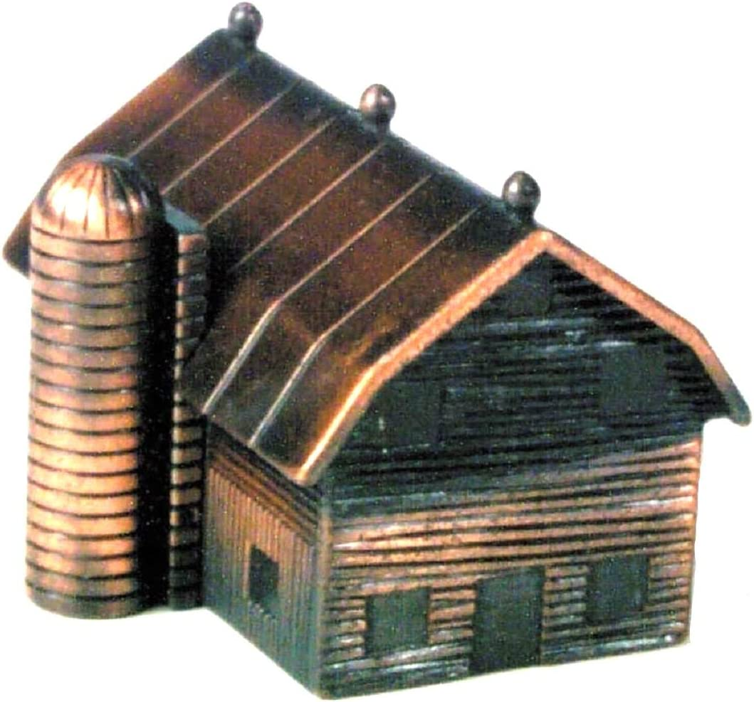 Barn with Max 53% OFF Silo Die Cast Pencil Collectible Metal Sharpener Popularity