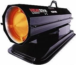 50,000 Max BTU Rating, Kerosene Forced Air Heater, 1,200 Sq Ft Max Heating Area, 4 Gal Capacity, Kerosene