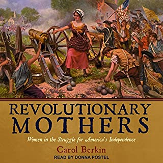 Revolutionary Mothers audiobook cover art