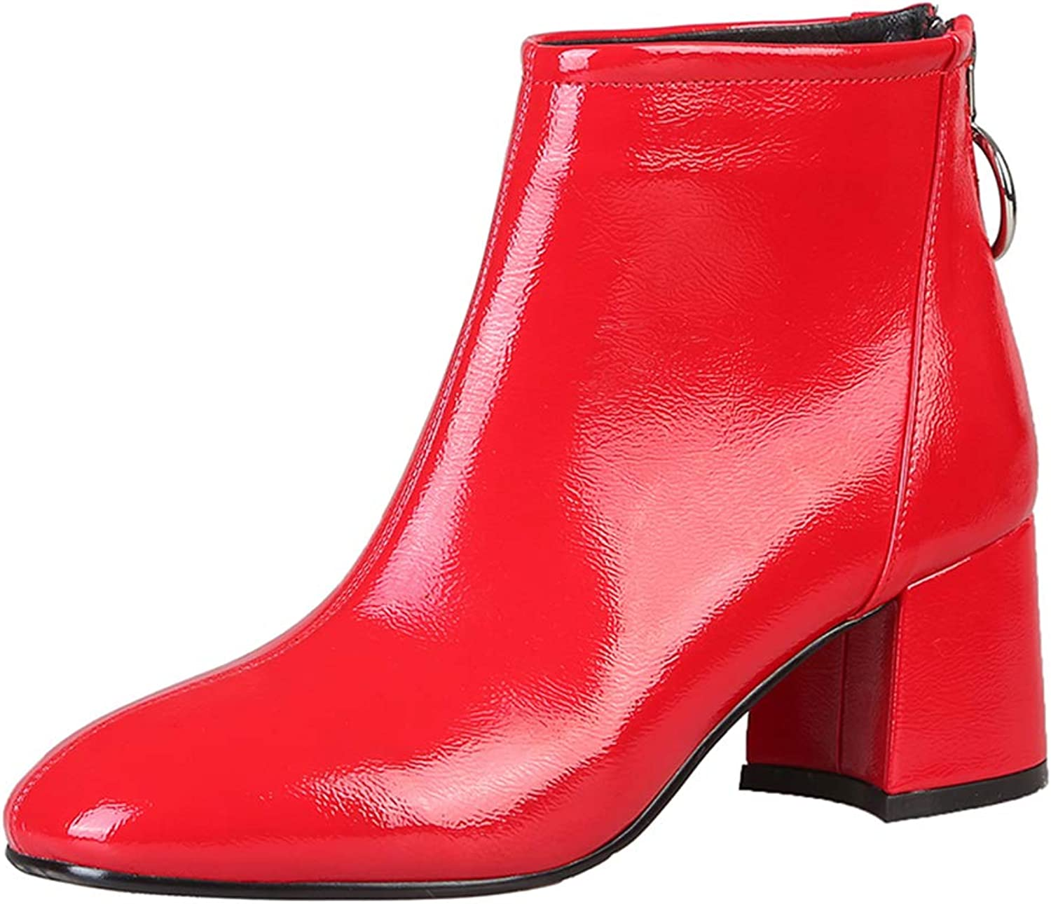 Lydee Fashion Women Winter shoes Ankle Boots Zipper