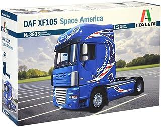 Italeri DAF XF-105 Space America, I3933, modelarstwo, budowanie modeli, majsterkowanie, hobby, klejenie, zestaw z tworzywa...