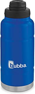 Bubba Trailblazer Vacuum-Insulated Stainless Steel Water Bottle, 32 oz, Very Berry Blue