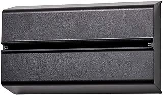 ideaco (イデアコ) キッチンペーパーホルダー ブラック 幅25.5x高さ15.6 6.5 対応サイズ:幅23x高さ12x奥行4.5cm WALL PT(ウォール ピーティ)