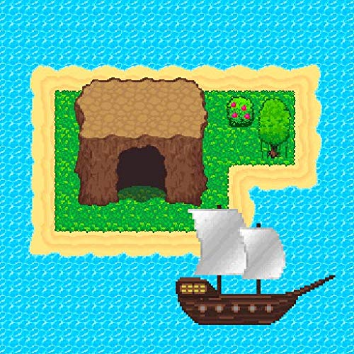 Survival RPG: Lost Treasure. Fantasy and Adventure Game in a 2D pixel world.
