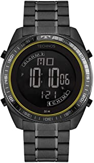 Relógio Technos Masculino Ref: Bj3373aa/4p Digital Preto