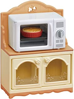 Calico Critters, Doll House Furniture and Décor, Microwave Cabinet