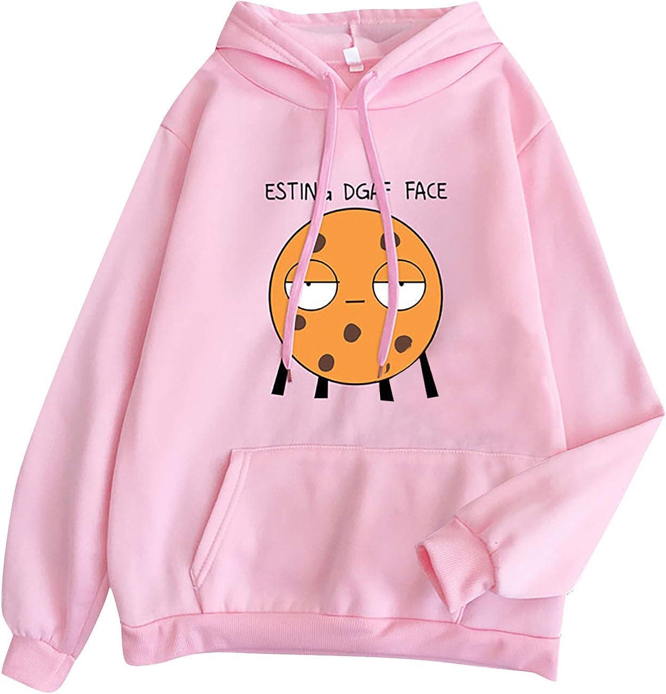 Esting Dgaf Face Sweatshirt Women Cartoon Tulsa Mall Pullover Graphic Al sold out. Funny