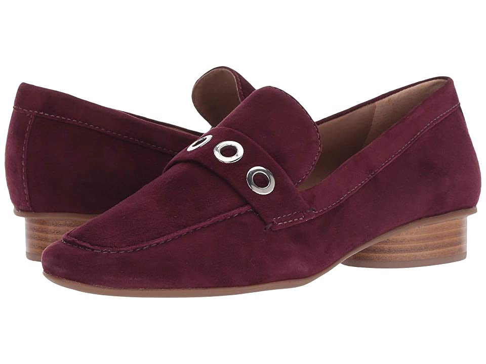 Bernardo Jaden Loafer (Bordeaux Suede) Women