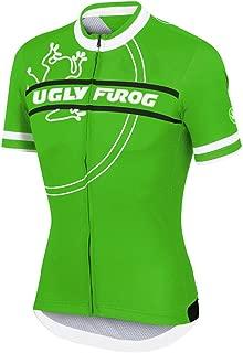 Uglyfrog Designs Bike Wear Men's Shorts Sleeve Cycling Jersey Tops Bike Clothing Biking Shirt with 3 Pockets H15