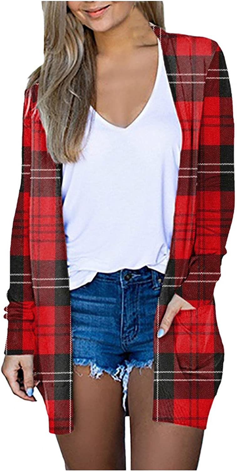 Long Cardigans for Women Lightweight, Womens Cardigans Plus Size Cardigan Sweaters Open Front Chunky Knit Cardigan Lightweight Long Duster Cardigan