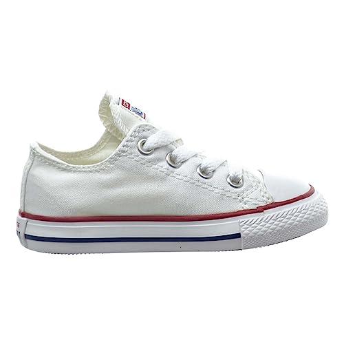 637a8e2ca036 Converse Chuck Taylor All Star OX Toddler Shoes Optical White 7j256