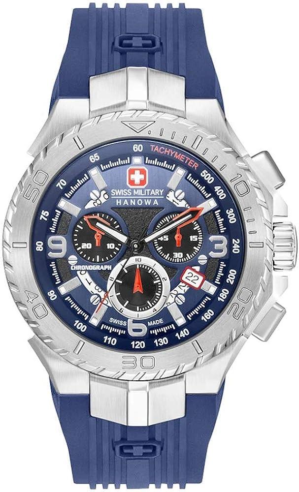 SWISS MILITARY HANOWA Seaman Chrono horloge 06-4329.04.003