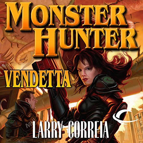 Monster Hunter Vendetta audiobook cover art