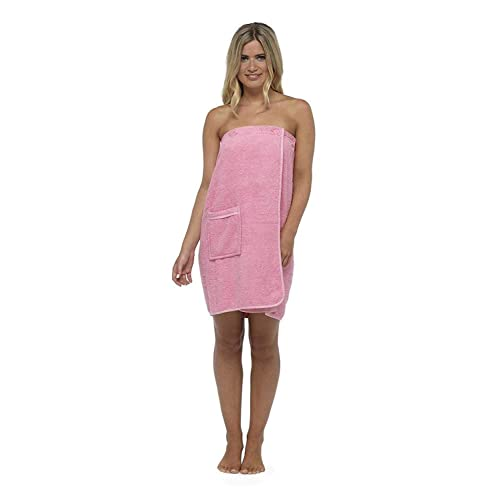 CityComfort Towel Wrap for Women 100% Cotton Highly Absorbent Terry Soft  Sarong Towel Shower Spa aaa5828fa