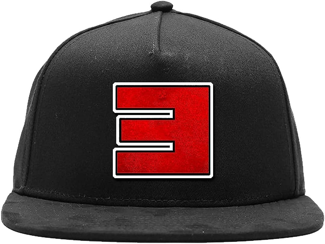 Eminem Men's Reverse E Baseball Cap Black