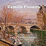 Camille Pissarro 8.5 X 8.5 Calendar September 2021 -December 2022: Post-Impressionist - Monthly Calendar with U.S./UK/ Canadian/Christian/Jewish/Muslim Holidays- Art Paintings