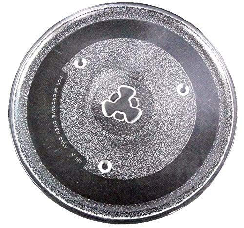 Irkaja 10.6 inches / 270mm Diameter Microwave Oven Replacement Turntable/Rotating/Baking Glass Tray/Plate...