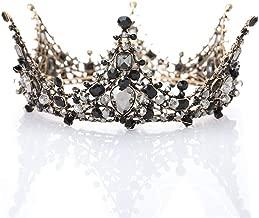 LittleB Baroque Bridal Crown Rhinestone Wedding Tiaras Princess Crown Pageant Party
