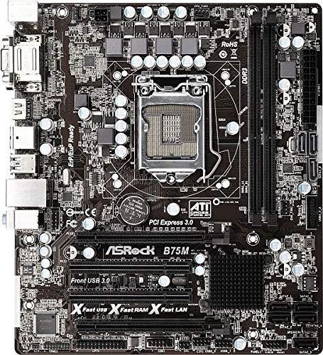 ASRock B75M Rev 2.0 Intel B75 Mainboard Micro ATX Sockel 1155#140539
