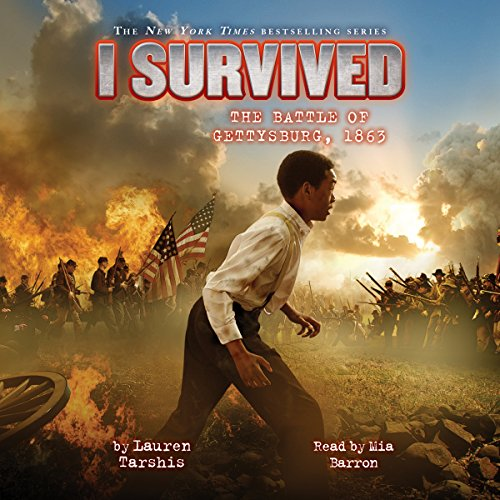 I Survived the Battle of Gettysburg, 1863 audiobook cover art