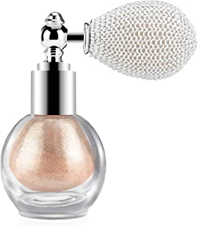 Ownest Highlighter Powder Spray, Glitter High Gloss Spray Shimmer Sparkle Powder Makeup Spray, for Face Body Cosmetic-Cham...