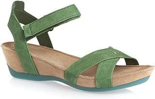 Women's Micro 21584 Medium Green Sandal 39 (US Women's 9) B - Medium