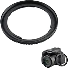 Filter Adapter JJC Lens Ring Adapter for Canon PowerShot SX530 HS SX520 HS SX70 HS SX60 HS SX50 HS SX40 HS SX30 is SX20 is SX10 is SX1 is Replaces Canon FA-DC67A Adapter Ring