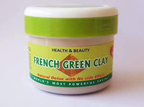 French Green Clay for Skin Repair & Face Mask, 100% Natural & Pure, Chemicals Free, (250 gm) (No Side Effects)