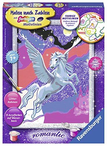 Ravensburger Malen nach Zahlen 28641 - Stolzer Pegasus - Für Kinder ab 7 Jahren