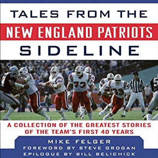 Tales from the New England Patriots Sideline cover art