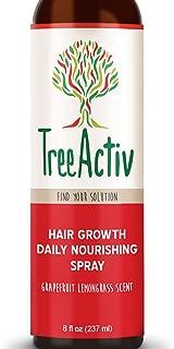 بخاخ تغذي يومي لنمو الشعر من تري أكتيف | بلسم طبيعي يترك في البشرة | مضاد للتجعد | يقلل من تجعد الشعر | زيت الأرجان | البيوتين | الكرياتين | أحماض الحرير | شجرة الشاي (حشيشة الليمون والجريب فروت)